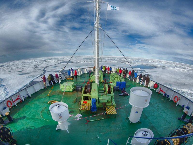 Ortelius Expedition Ship Polar Routes